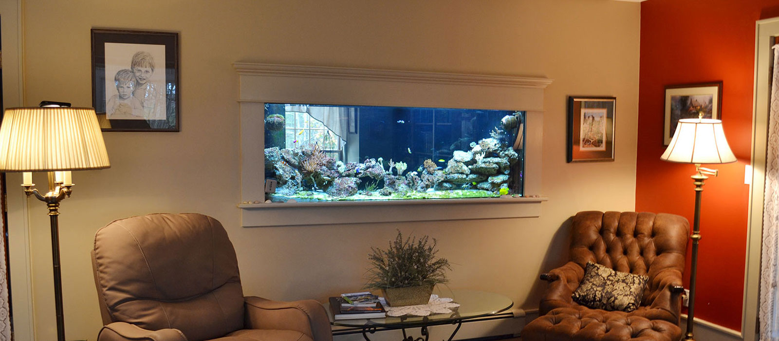 Custom Aquariums, Reef Tanks, Aquarium Start Up Service, Custom ...